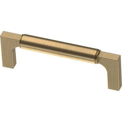 Artesia 3-3/4 in. (96mm) Center-to-Center Champagne Bronze Drawer Pull (10-Pack)