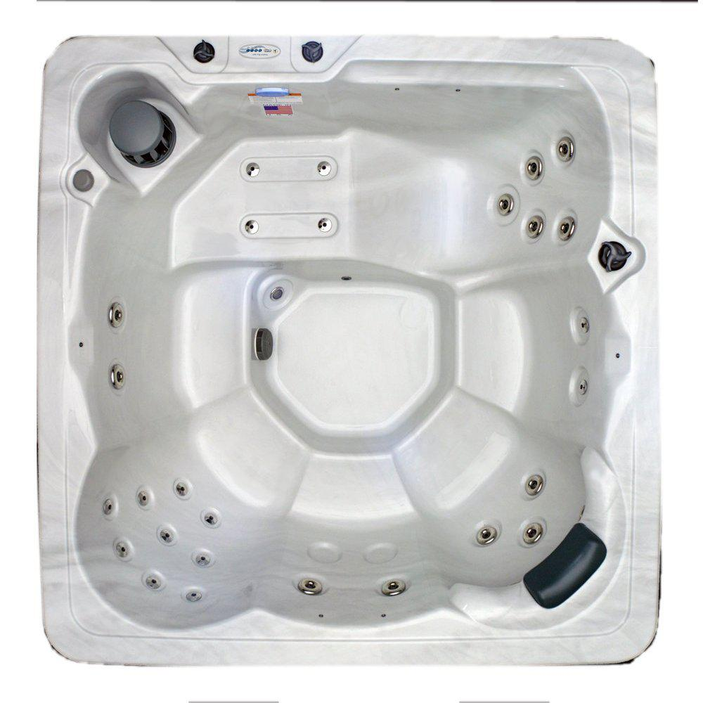 6 Person 29 Jet Spa with Stainless Jets and 110V GFCI Cord Included