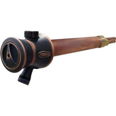 8 in. Single Handle Hot and Cold Mixing Hydrant Valve in. Oil-Rubbed Bronze 1/2 in. Plain Copper Ends