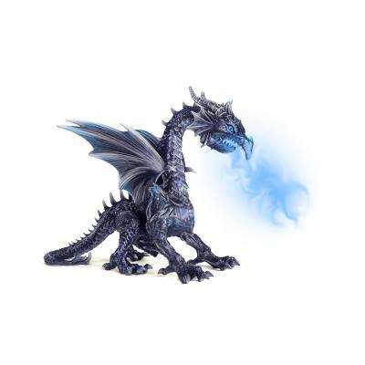 69 in limited edition realistic wind dragon with led eyes
