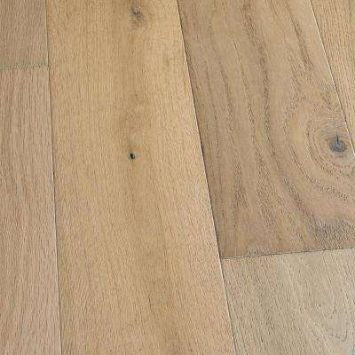 French Oak Delano 3/8 in. T x 6-1/2 in. W x Varying L Engineered Click Hardwood Flooring (23.64 sq. ft./case)
