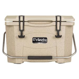 20 qt. Grizzly RotoMolded Cooler Sandstone by