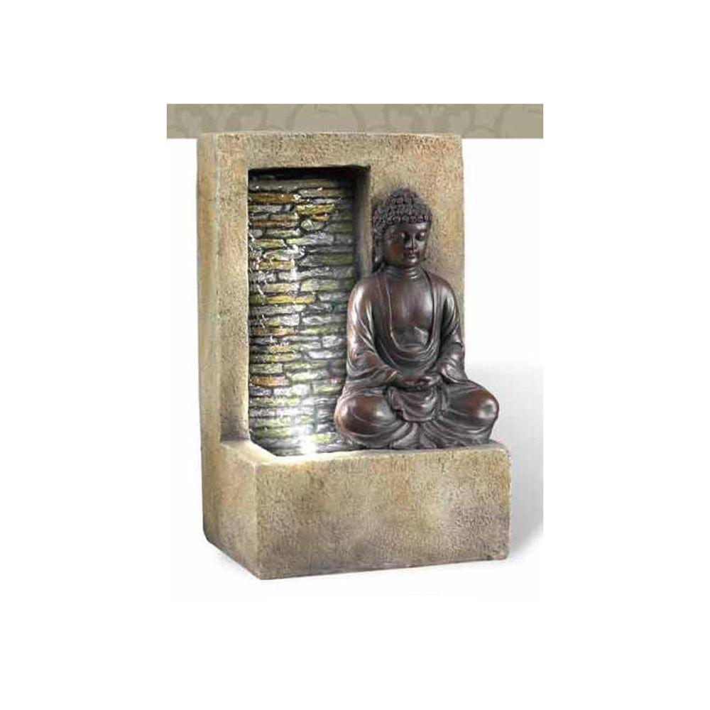 Antique Buddha Tabletop Fountain