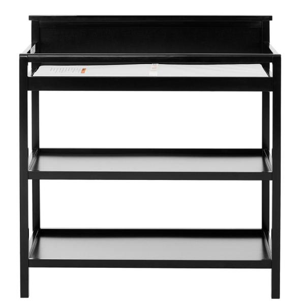 Attirant Dream On Me Jax, Black Universal Changing Table