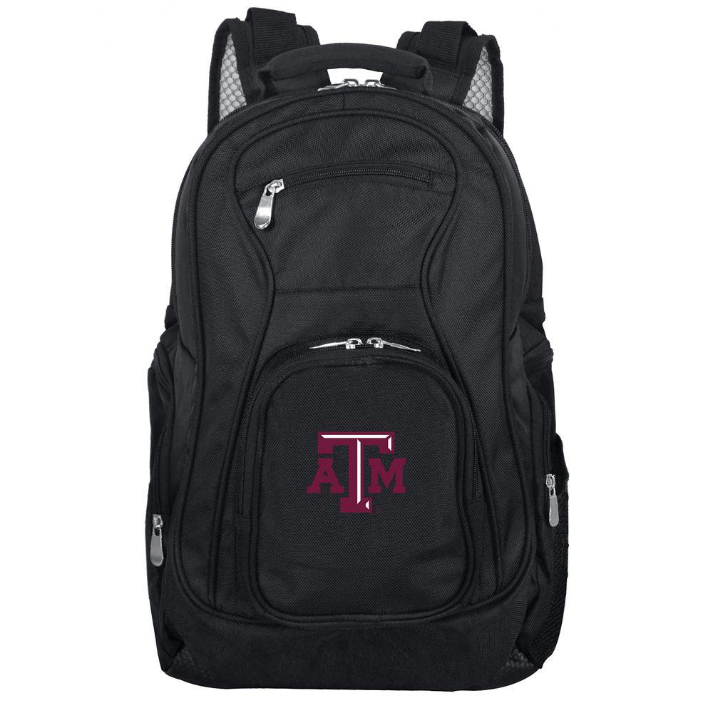 Denco NCAA Texas A&M Laptop Backpack, Black