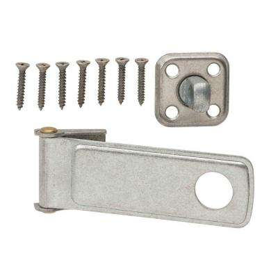 4-1/2 in. Galvanized Rotating Post Safety Hasp