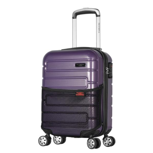 Olympia USA Nema 18 in. Purple Under the Seat Carry-On PC