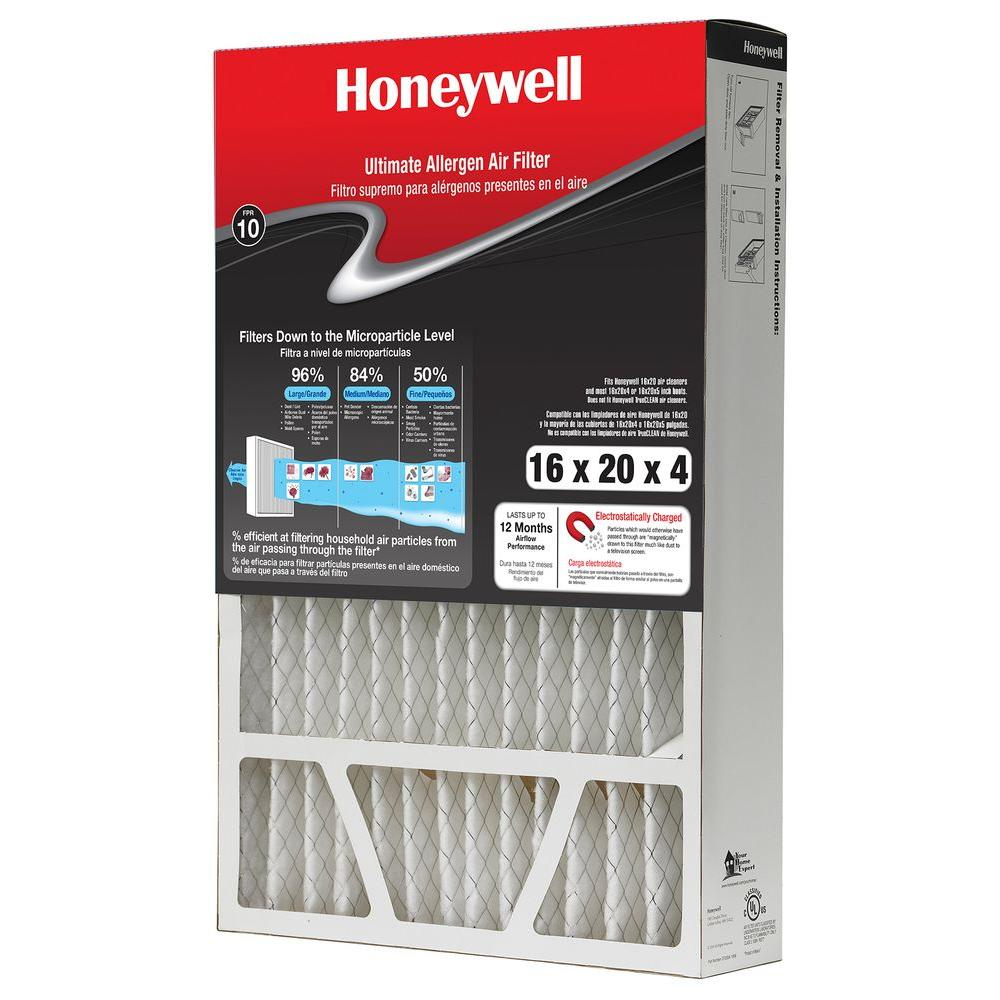 Honeywell 16 in. x 20 in. x 4 in. FPR 10 Air Cleaner Filter