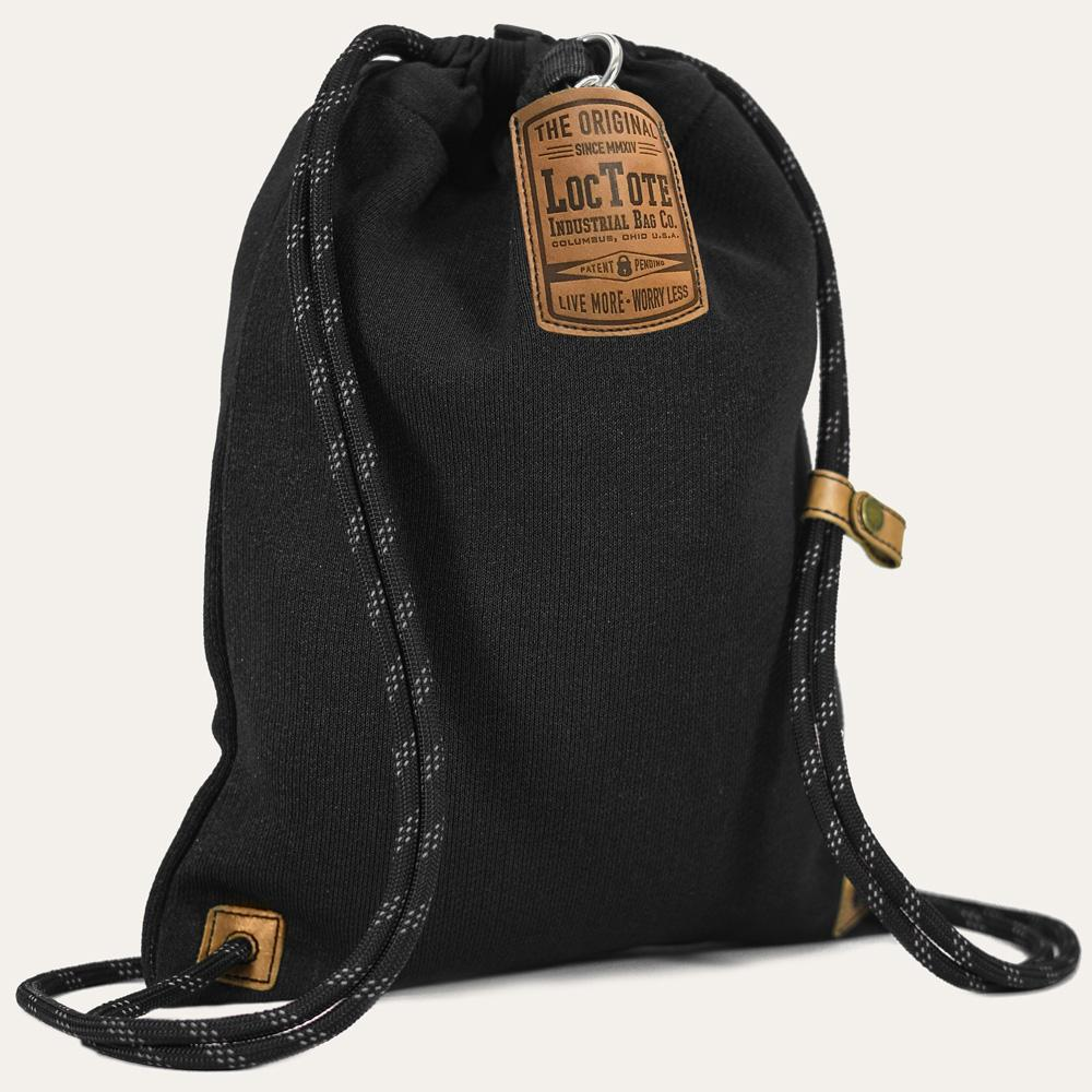 Loctote Flak Sack II 18 in. Black Backpack with Theft Proof  Features-21242-2 - The Home Depot c66f0cd7fc5ee