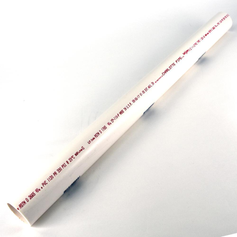 1-1/2 in. x 2 ft. PVC DWV Schedule 40 Pipe