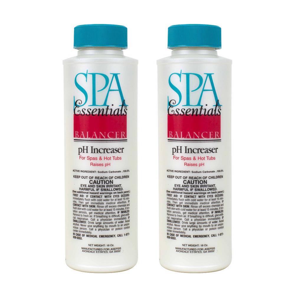 Spa Essentials Spa and Hot Tub 18 oz. pH Increaser (2-Pack)-32518000 ...