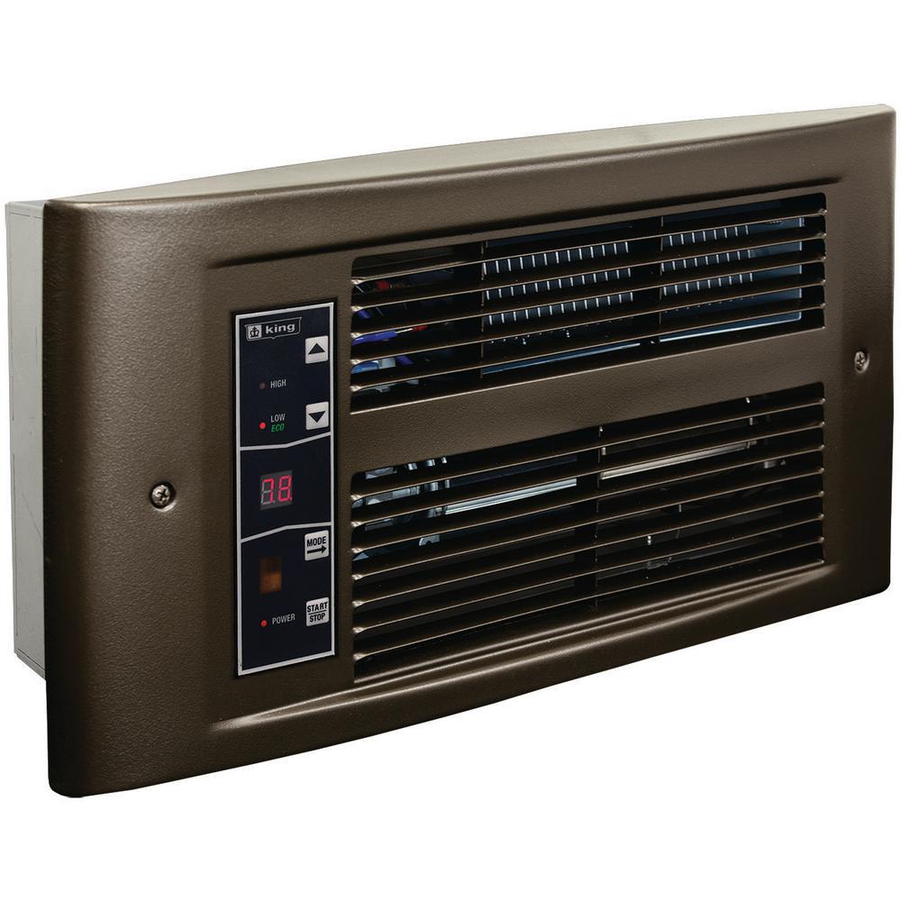 PX Eco 240-Volt, 1750-Watt, Electric Wall Heater in Oiled Bronze