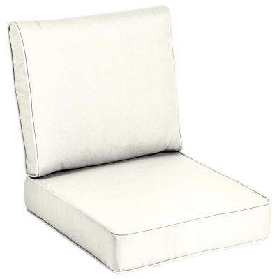 White Outdoor Chair Cushions Outdoor Cushions The Home Depot