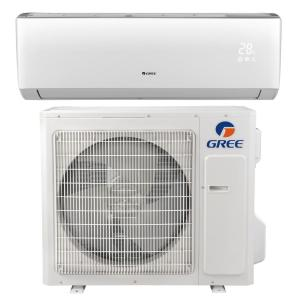 N LIVO 33600 BTU Ductless Mini Split Air Conditioner with Inverter, Heat and Remote -230V/60Hz by N