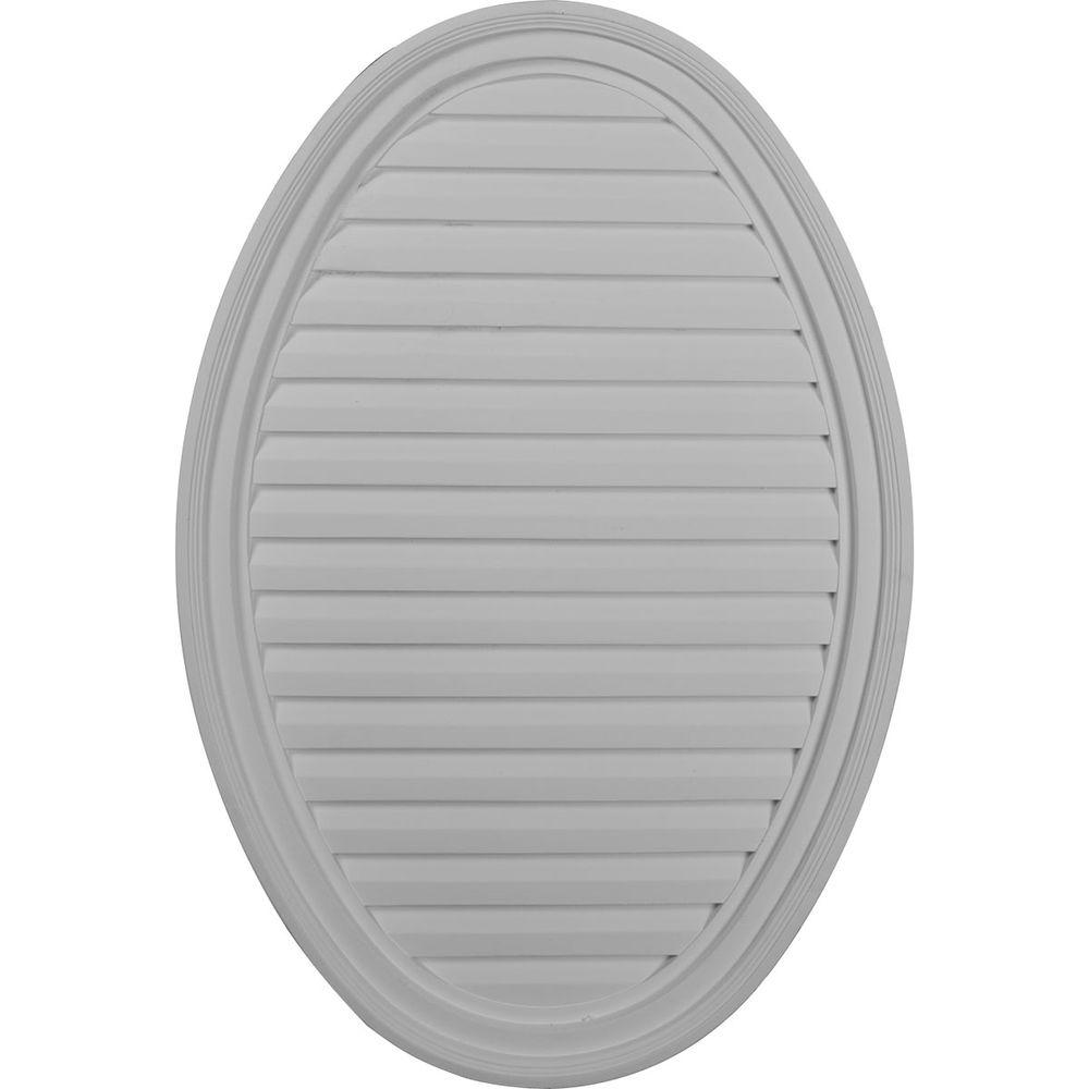 2 in. x 24-1/2 in. x 37 in. Decorative Vertical Oval