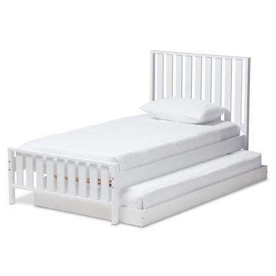 Bed Frame Mounted - Twin - Trundle - Beds & Headboards - Bedroom ...