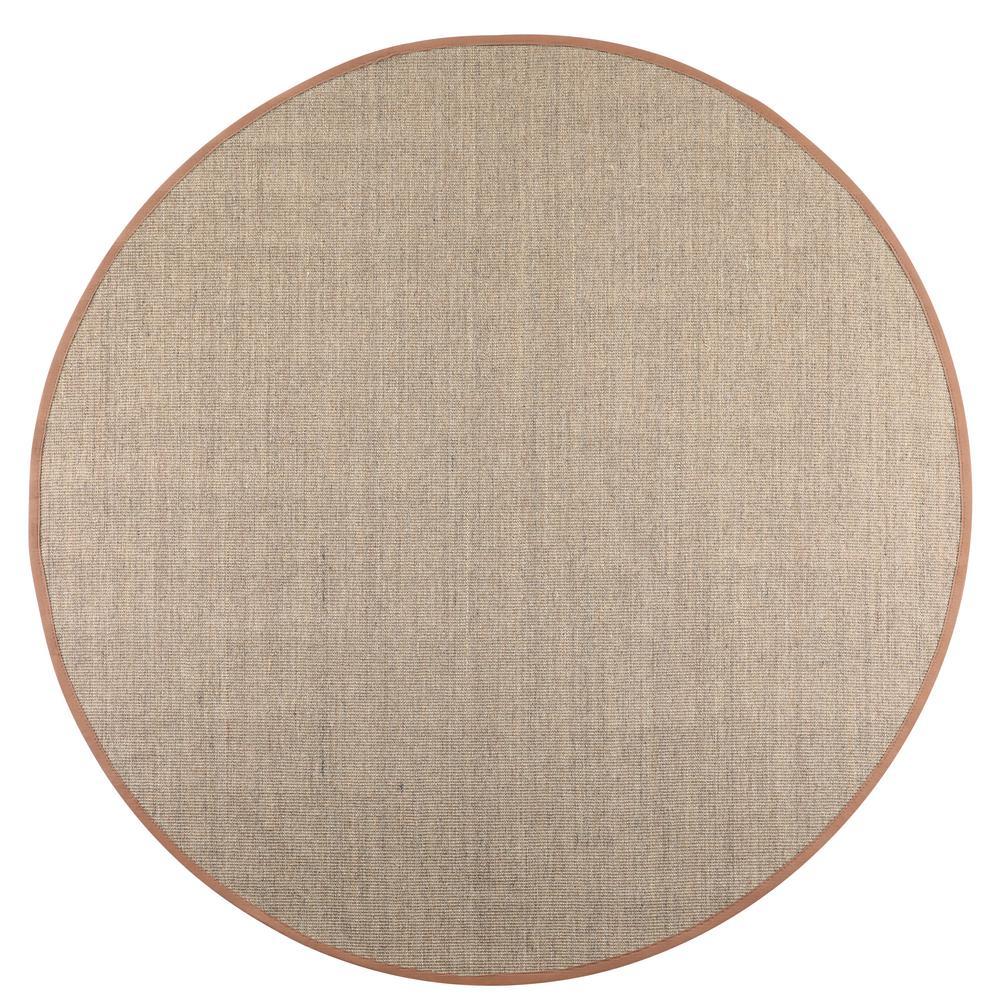 Home Decorators Collection Freeport Coast/Saddle 8 ft. x 8 ft. Round Area Rug