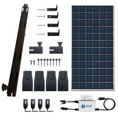 Solar Paq 295-Watt On-Grid Panel Inverter Racking Kit