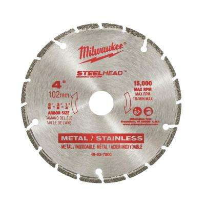 4 in. Steelhead Diamond Cut Off Blade