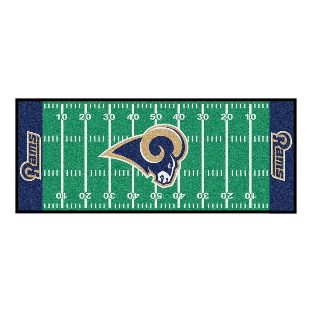 Los Angeles Rams 2 ft. 6 in. x 6 ft. Football