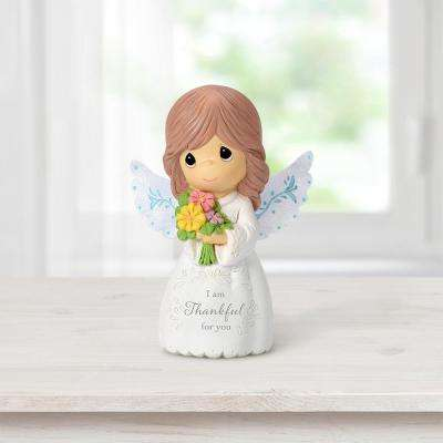 Tabletop Angel Resin I Am Thankful For You Mini Figurine