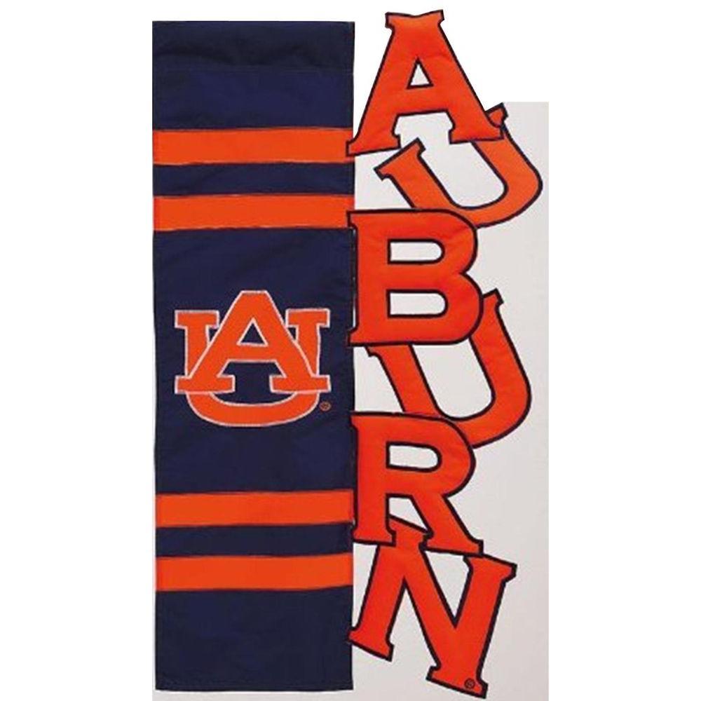 Evergreen Enterprises NCAA 12-1/2 in. x 18 in. Auburn Sculpted Garden Flag
