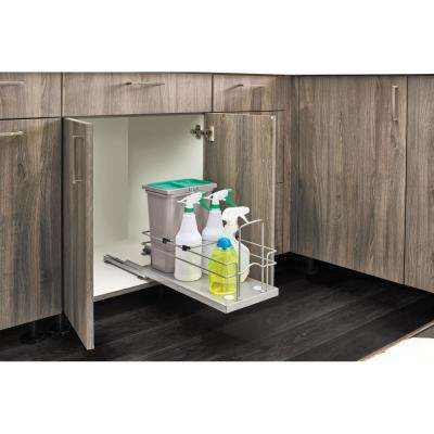 Sink Base Waste and Cleaning Pullout