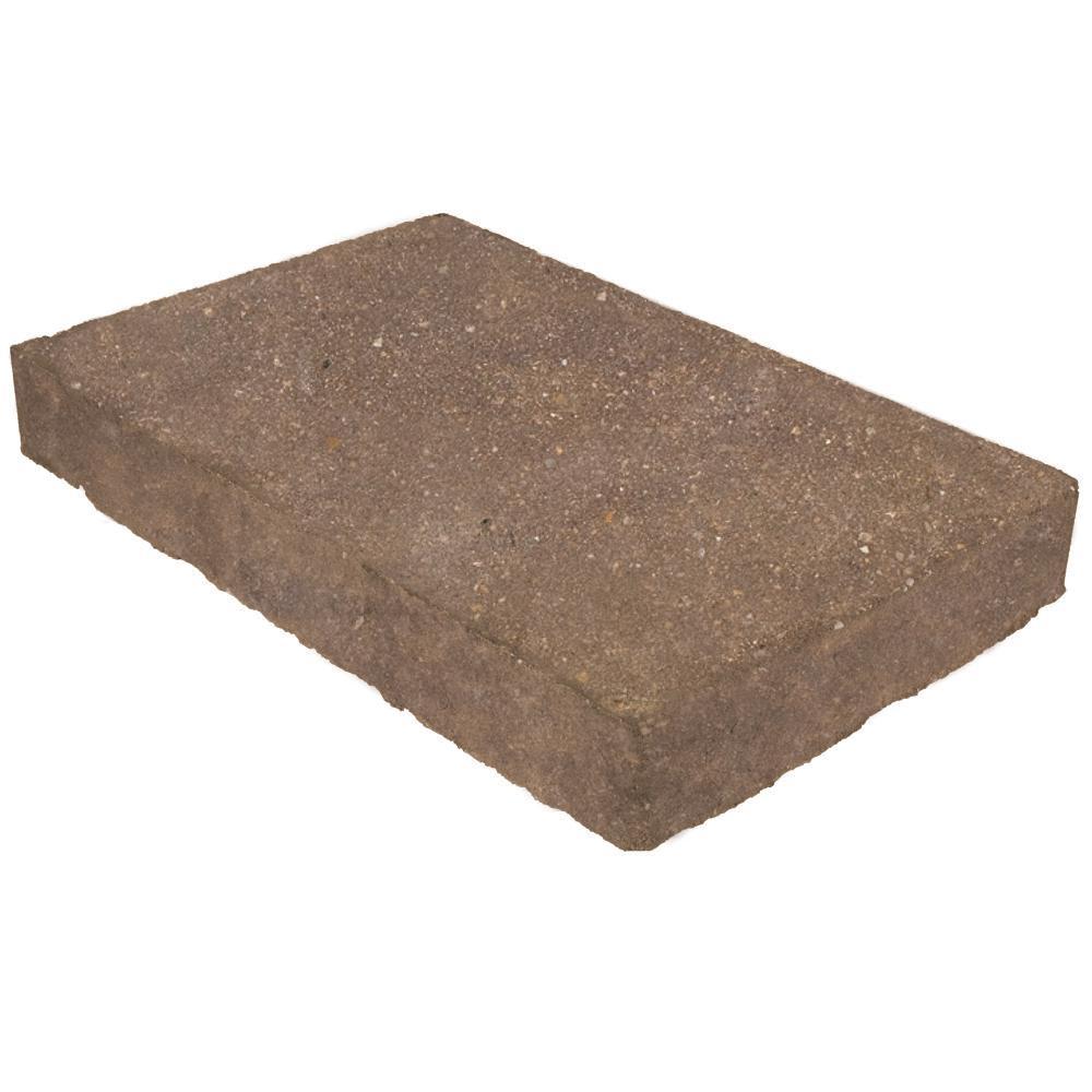 Valestone Hardscapes Mega Domino 18 in. x 11.75 in. x 2.25 in. Gascony Tan Concrete Paver