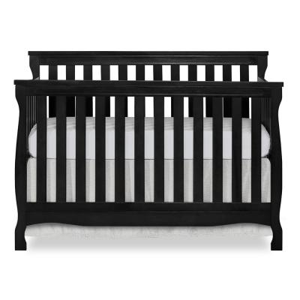 Keyport Black 5 in 1 Convertible Crib