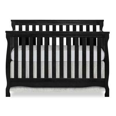 Keyport Black 5 in 1 Convertible Crib