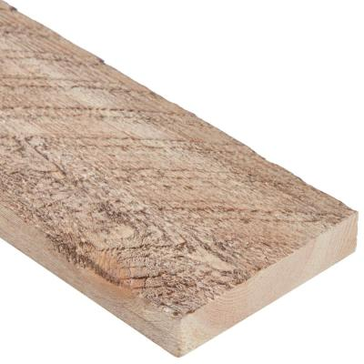 Ghost Wood 1 in. x 4 in. x 8 ft. Bannack Brown Wood Trim