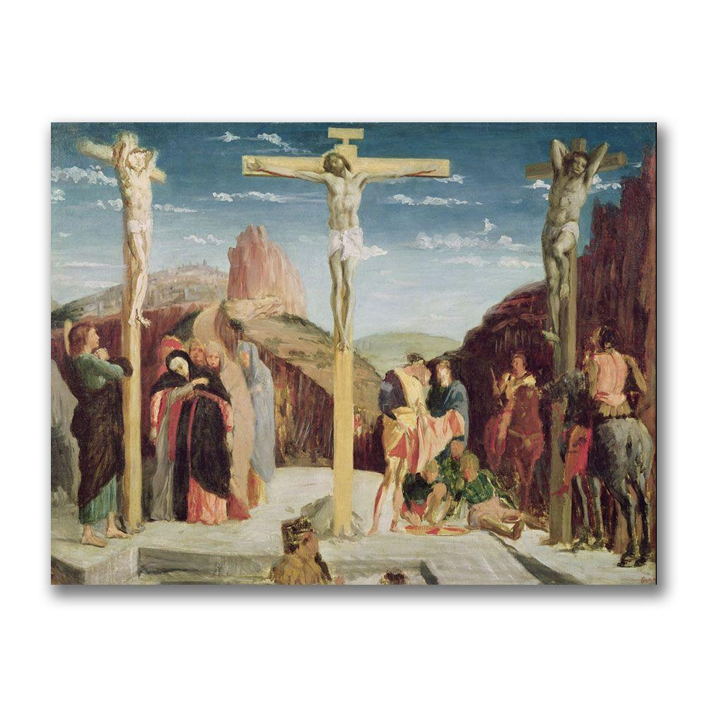 24 in. x 32 in. Calvary, After by Andre Mantegna Canvas