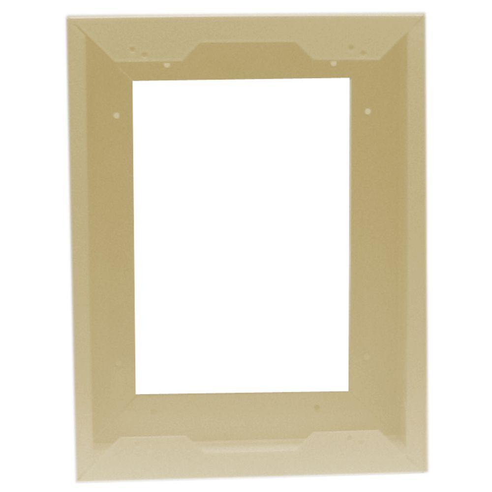 Com-Pak Plus/Max 4 in. Deep Metal Surface Mount Adapter Almond