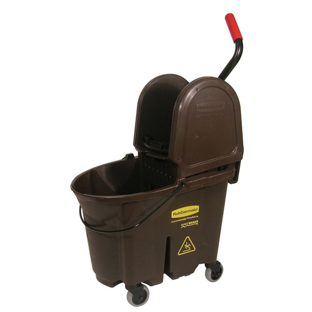 Rubbermaid Commercial Products Wave Brake 35 Qt Down