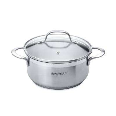 Essentials 1.4 Qt. Stainless Steel Covered Casserole