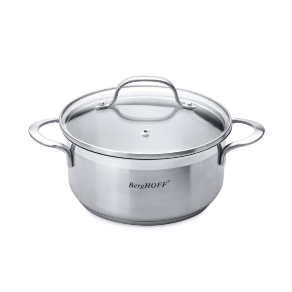 BergHOFF Essentials 1.4 Qt. Stainless Steel Covered Casserole 1100090