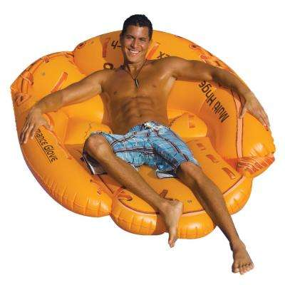 62 in. x 50 in. Baseball Glove Island Pool Float