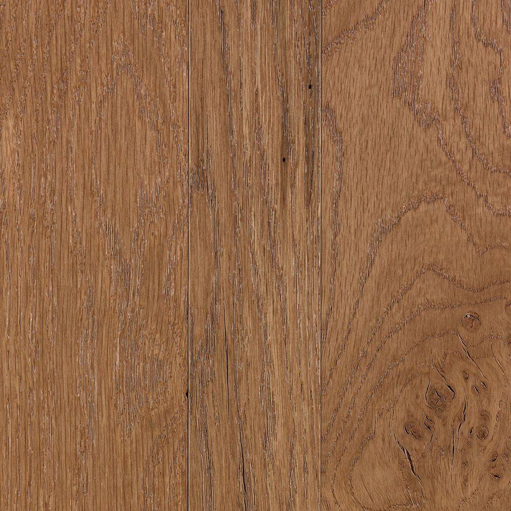 null Franklin Tawny Oak 3/4 in. Thick x Multi-Width x Varying Length Solid Hardwood Flooring (20.85 sq. ft. / case)