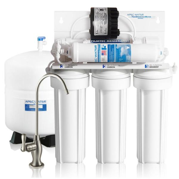 Ultimate Premium Quality Permeate Pumped Under-Sink RO Drinking Water System for Low Water Pressure Home