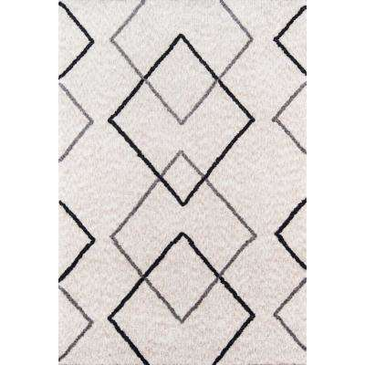 Bungalow Felix Grey 5 ft. X 7 ft. Indoor Area Rug