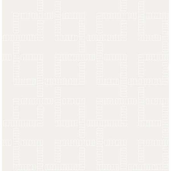 A-Street Theory Pearl Geometric Wallpaper 2625-21833