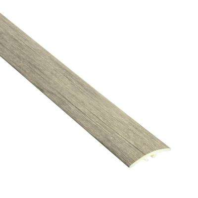 Tabor 7/32 in. Thick x 1 1/2 in. Wide x 94 in. Length Vinyl Multi-Purpose Reducer Molding