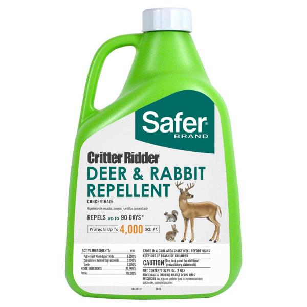 Critter Ridder 32 fl. oz. Deer and Rabbit Repellent Concentrate