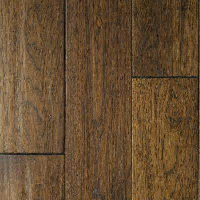 Hickory Sable Solid Hardwood Flooring - 5 in. x 7 in. Take Home Sample