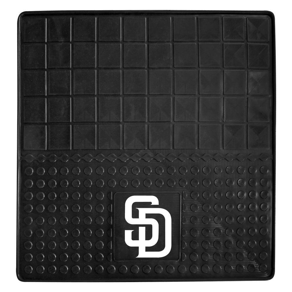 San Diego Padres Heavy Duty Vinyl 31 in. x 31 in. Cargo Mat