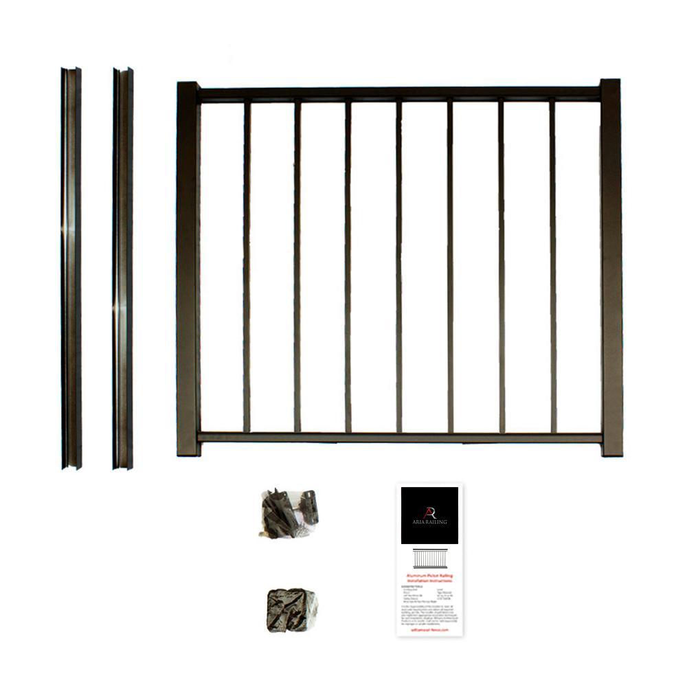 Gate Deck Amp Porch Railings Decking The Home Depot