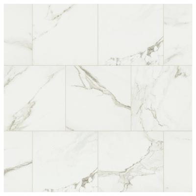 Developed by Nature Calacatta 12 in. x 12 in. Glazed Porcelain Floor and Wall Tile (14.55 sq. ft. / case)