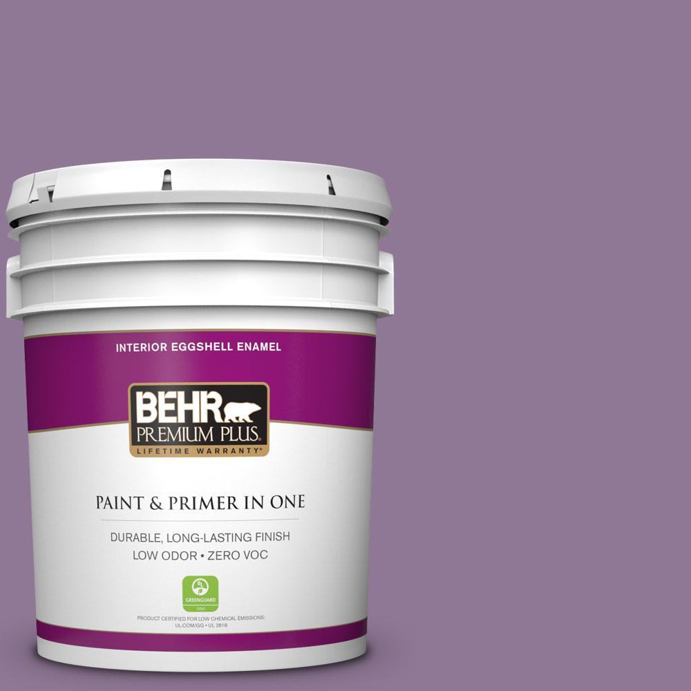 BEHR Premium Plus 5-gal. #M100-5 Passion Fruit Eggshell Enamel Interior Paint