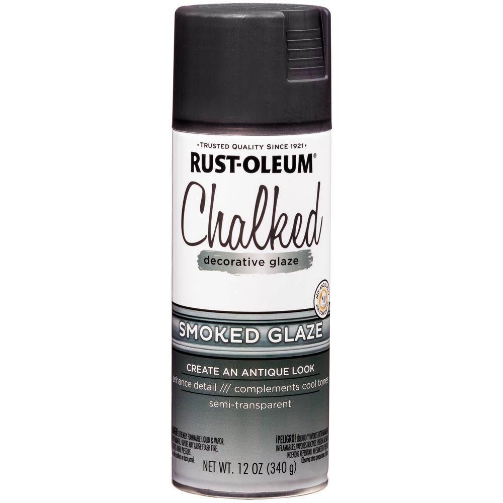 12 oz. Chalked Smoked Decorative Glaze Spray