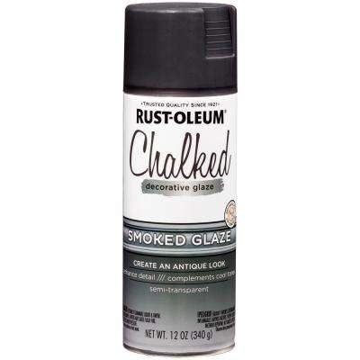 12 oz. Chalked Smoked Decorative Glaze Spray (6-Pack)